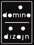 Domino dizajn logo