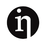 In logo